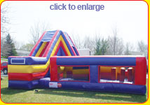 Bounce House Rental Obstacle Course - Rochester NY
